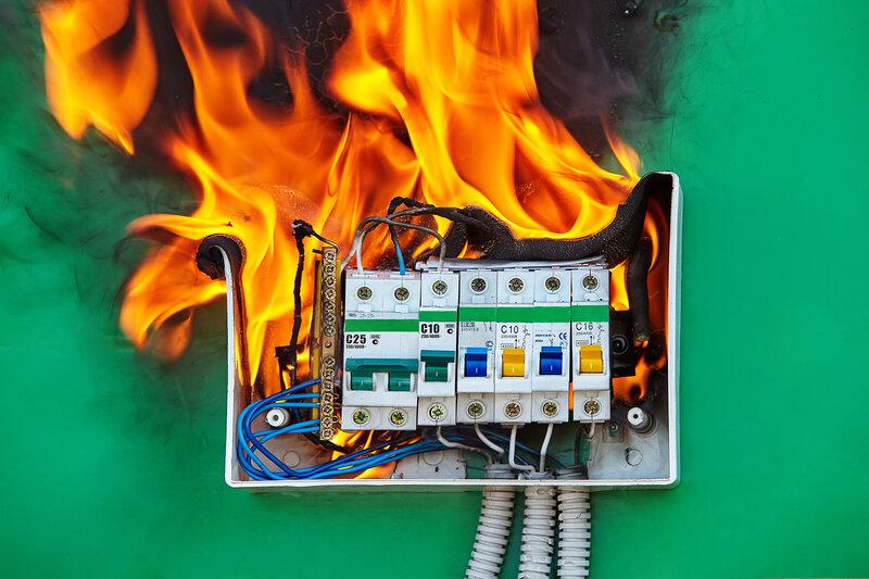 Home Inspection Austin Fire Hazard